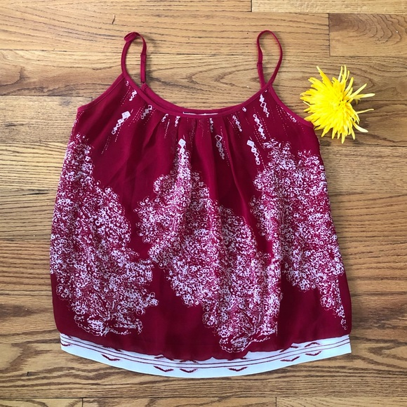 """CAbi Tops - NWT CAbi Red Blouse from """"The Heart"""" Collection"""